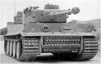 Первый тяжелый танк вермахта